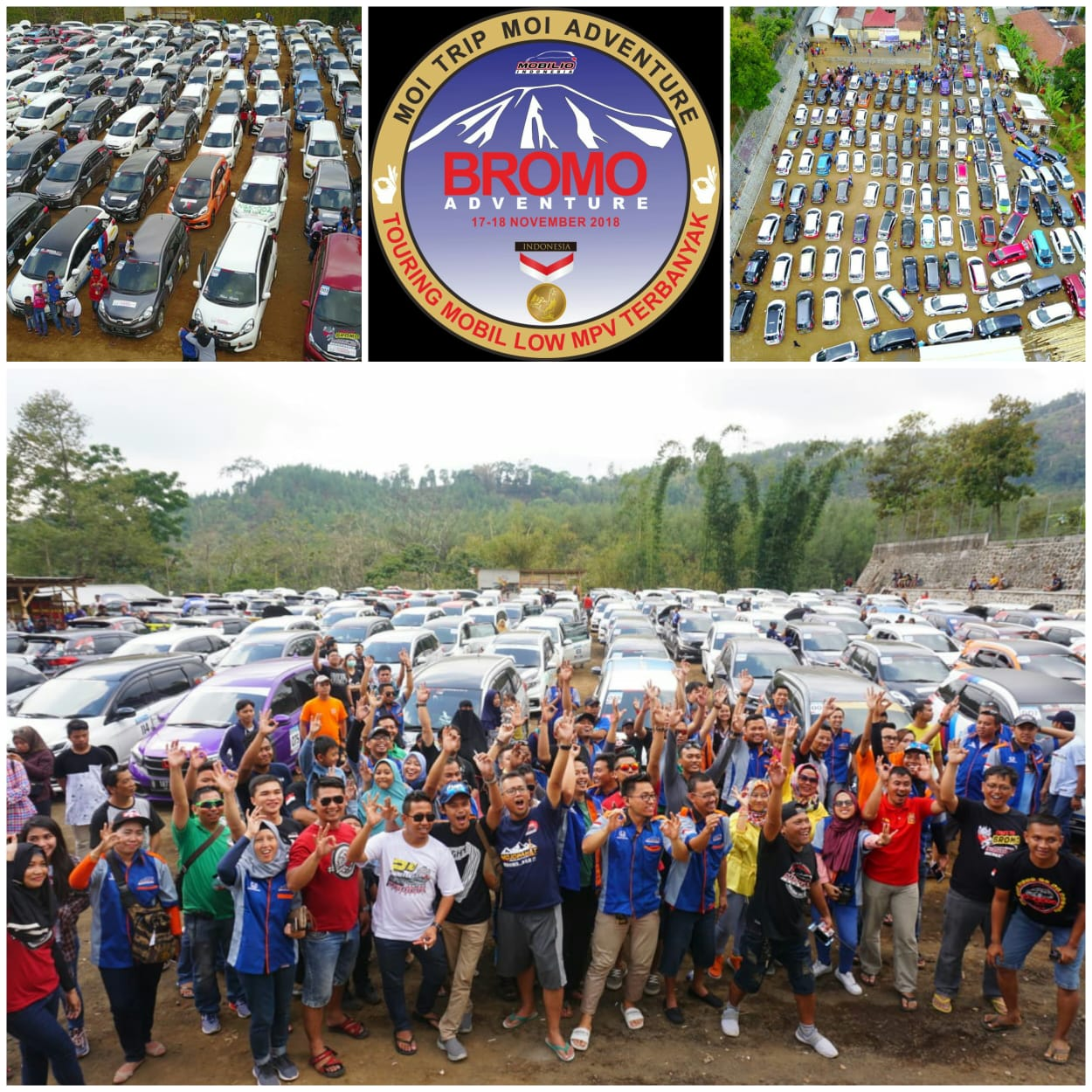Gathering nasional moi mobilio indonesia goes to bromo